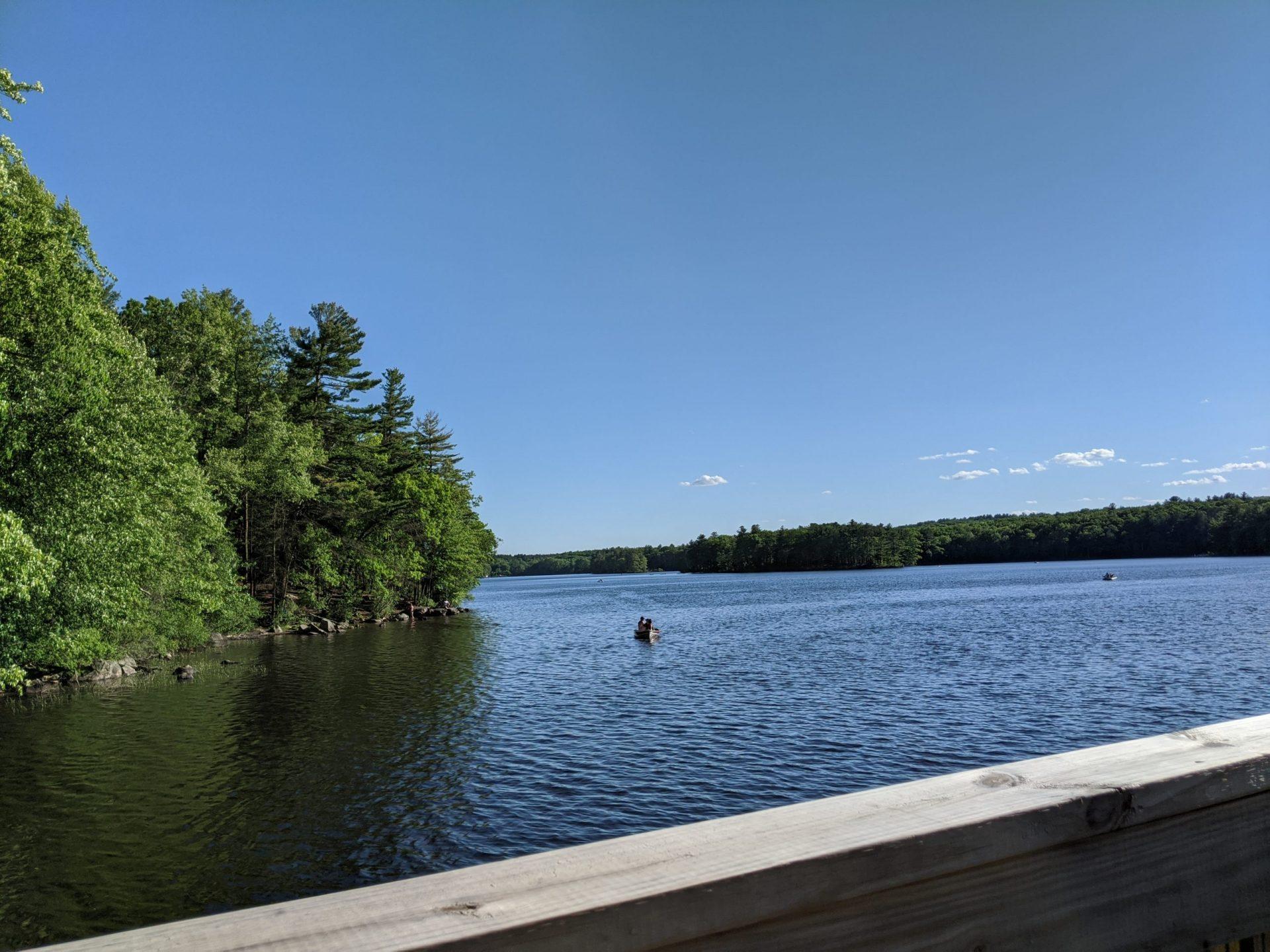 Canoes May 2020 - Ashland State Park
