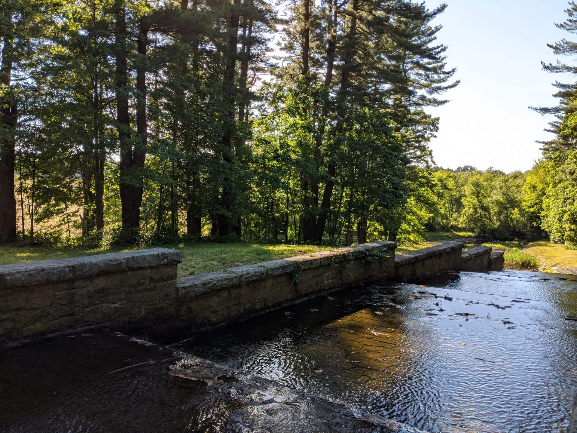 Ashland spillway - June 2020